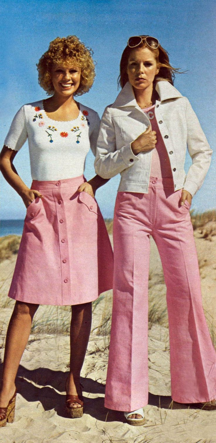 Fashion trends of 1970 1
