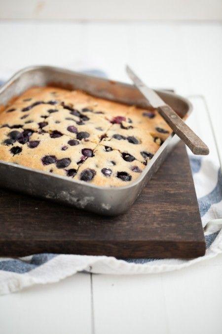 Blueberry Maple Corn Cake from @erin (naturally ella)