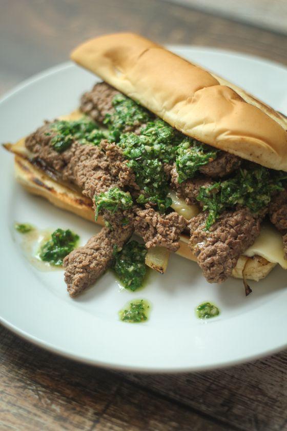 Chimichurri Steak Sandwich | Recipe