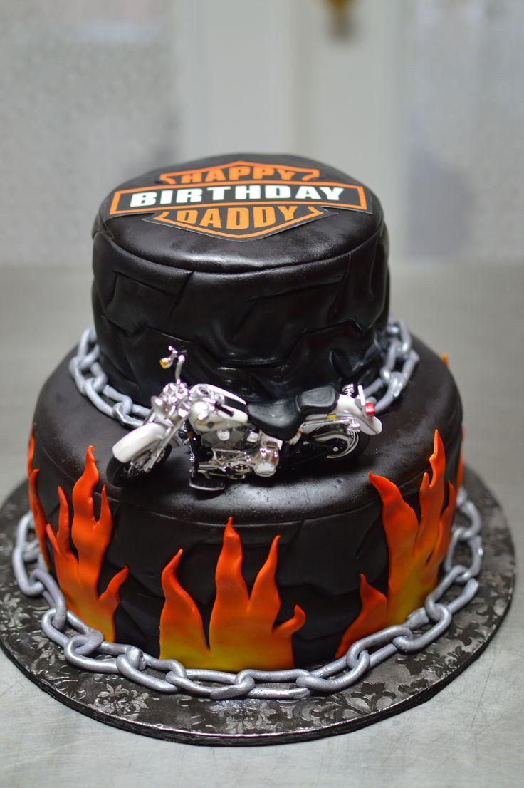 harley davidson cake cakes pinterest