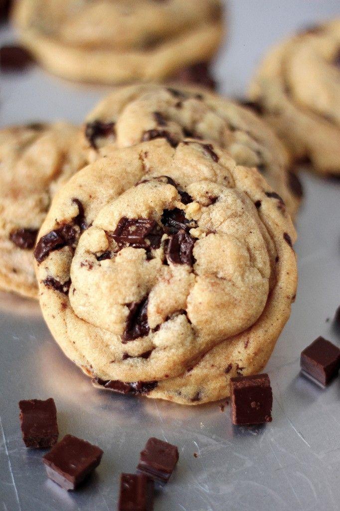 Best Ever Chocolate Chunk Cookies | Cookies and milk. | Pinterest