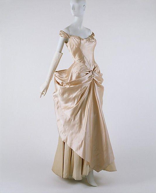 Charles james wedding dress 1948 1949 my old soul loves for Vintage wedding dresses nyc