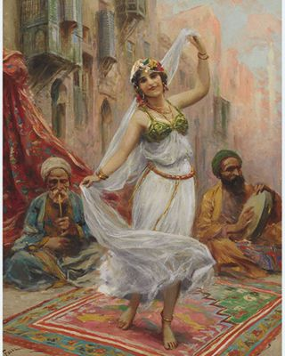 The Oriental Dance by Portrait Artist - Enzie Shahmiri