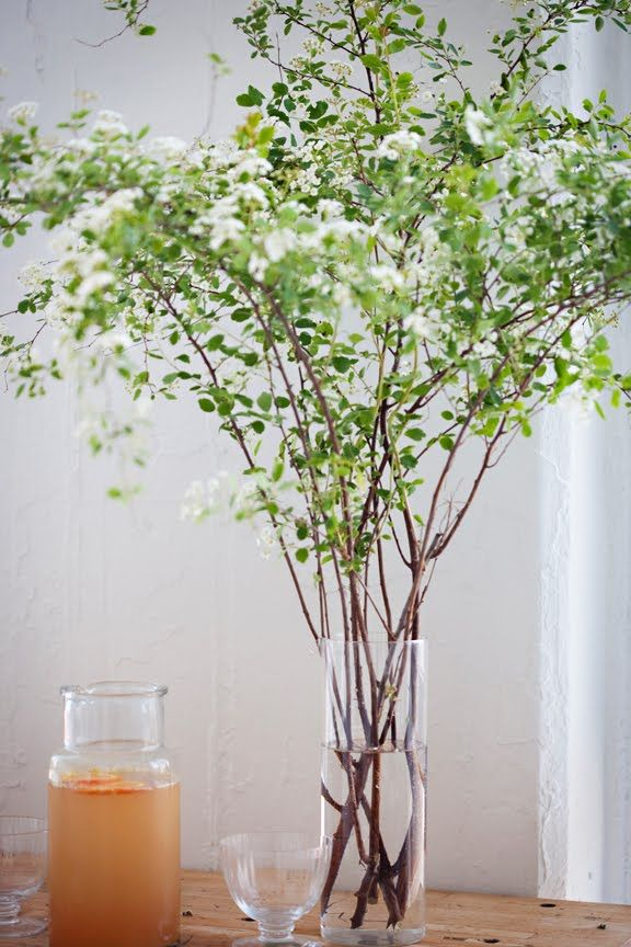 branch floral arrangement flowers pinterest
