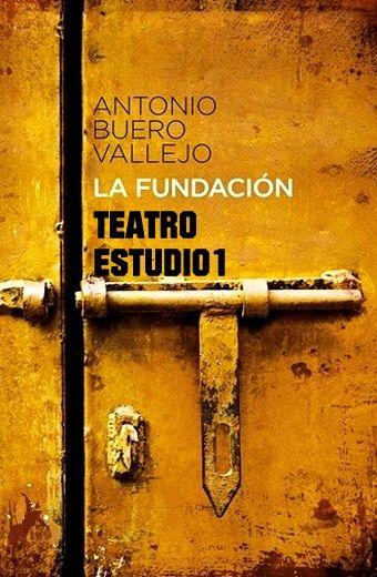 Cartel obra de teatro: TVE. LA FUNDACIÓN -  BUERO VALLEJO - ESTUDIO 1 - 1977