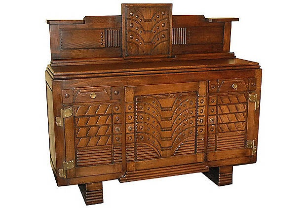 arts and crafts style buffet for the home pinterest