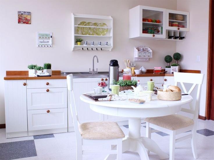 Uma cozinha superlinda decorada com produtos MMM! Veja os detalhes: http://www.minhacasaminhacara.com.br/decoracao-para-a-cozinha/