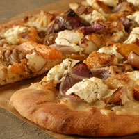 Roasted Vegetable and Ricotta Pizza | I ate you and you were good | P ...