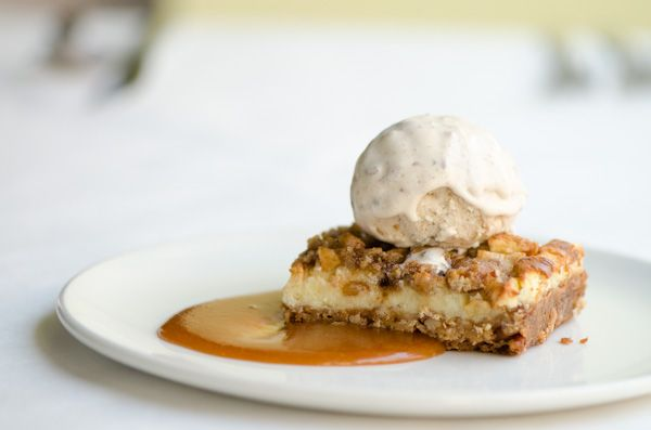 , Dark Brown Sugar, Pecans, Butter Pecan Ice Cream, and Bourbon-Apple ...