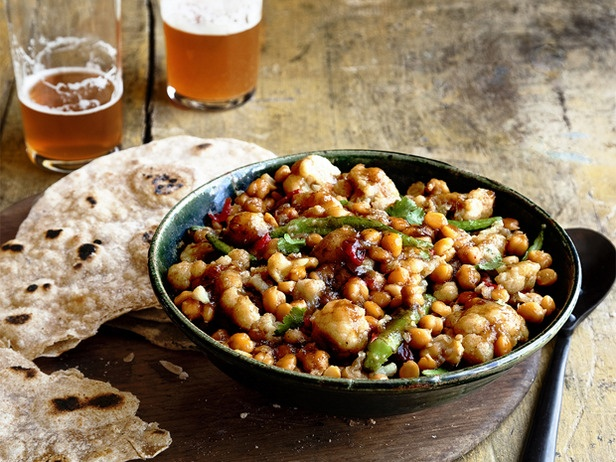 Picture of Chickpea and Cauliflower Curry Recipe