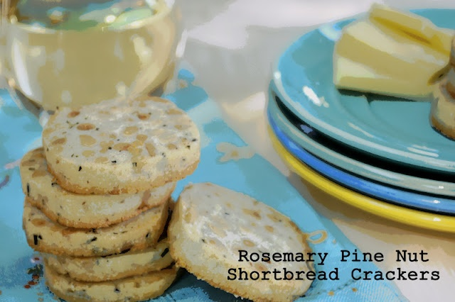 The view from Great Island: Rosemary Pine Nut Shortbread Crackers