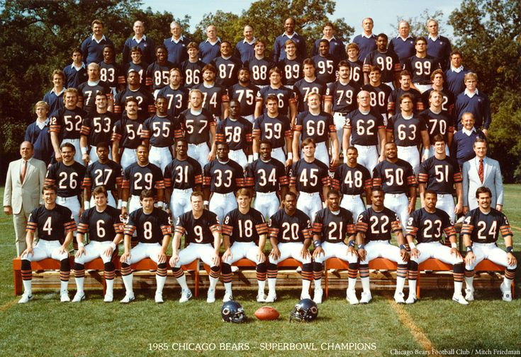 1985 Chicago Bears season