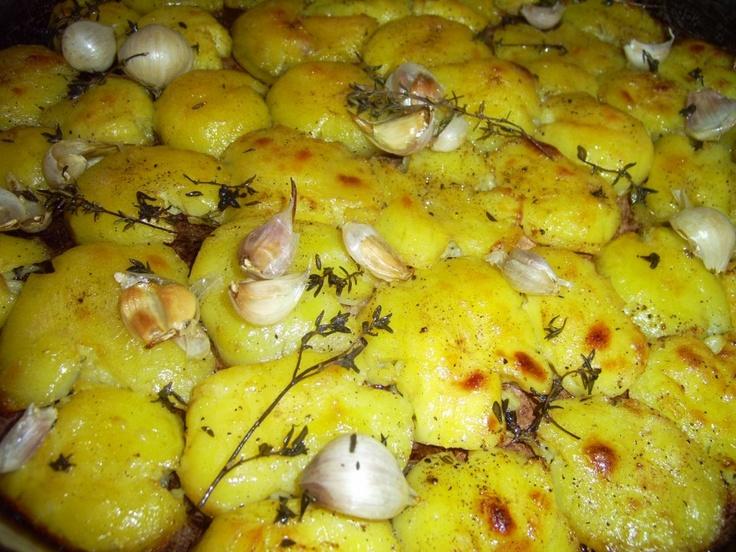 Щъркелово гнездо: Печени картофки - по Джейми Оливър