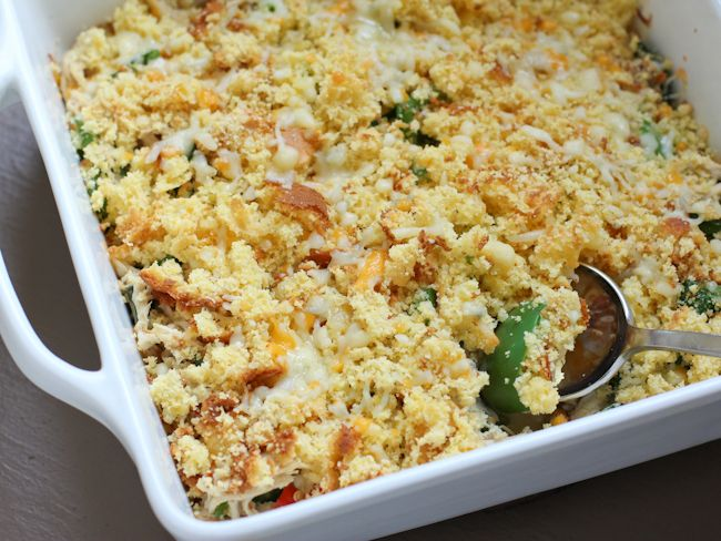 Cornbread Chicken Casserole Recipe Main Dishes with chicken breasts ...