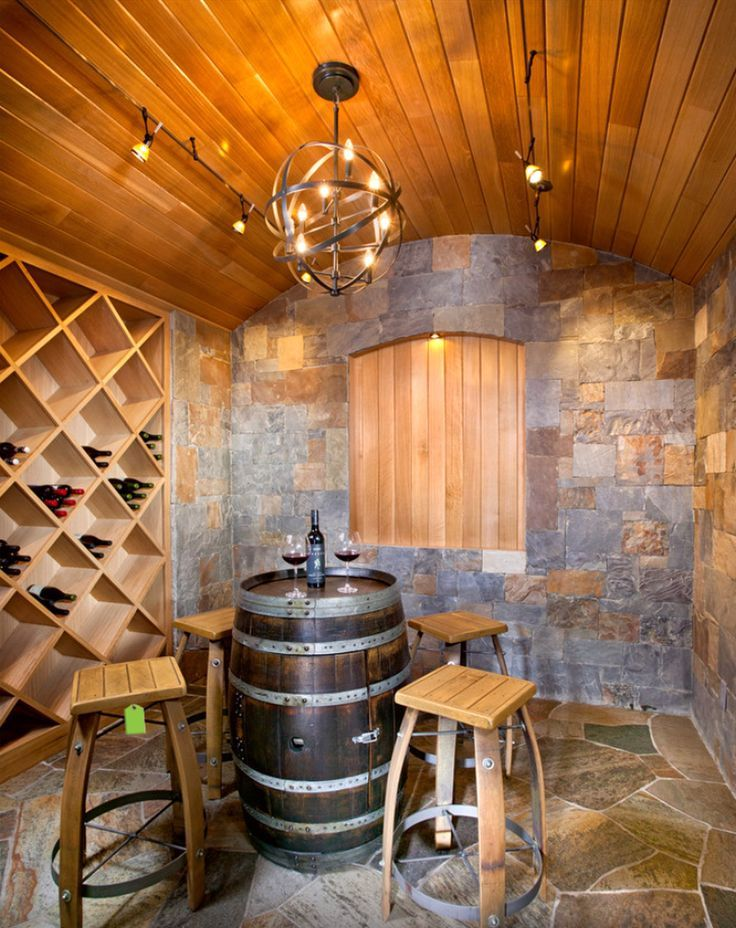 Wine cellar cool home decor pinterest for Wine cellar pinterest