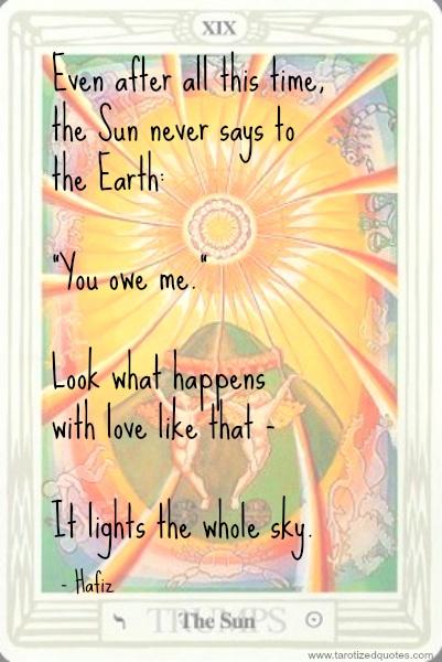 hafiz quotes sun - photo #19