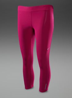 Nike Womens Relay Crop Capris - Womens Running Clothing - Bright