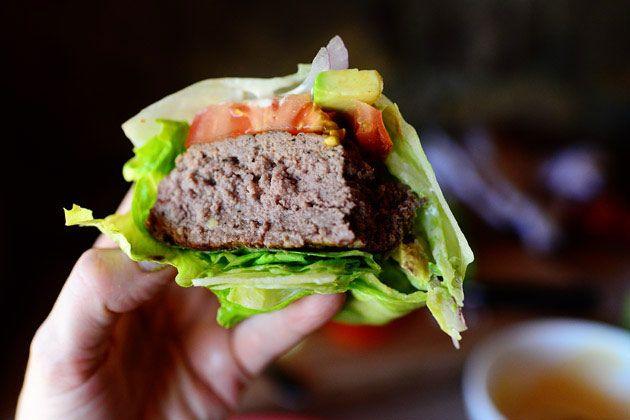 Pioneer Woman's Low-Carb Burgers