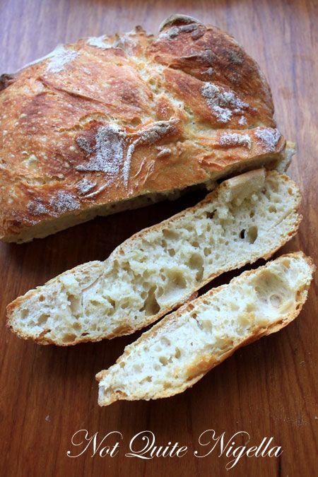 No Knead Bread | breads | Pinterest