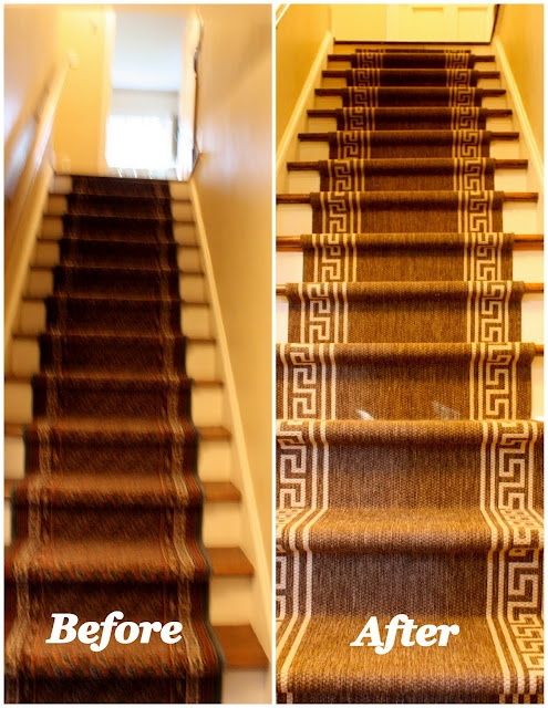 Greey Key Stair Runner From Lowes For The Home Pinterest