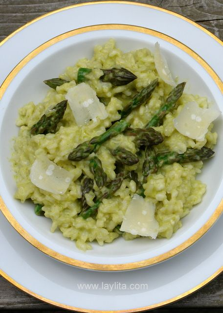risotto recipes | Asparagus risotto recipe