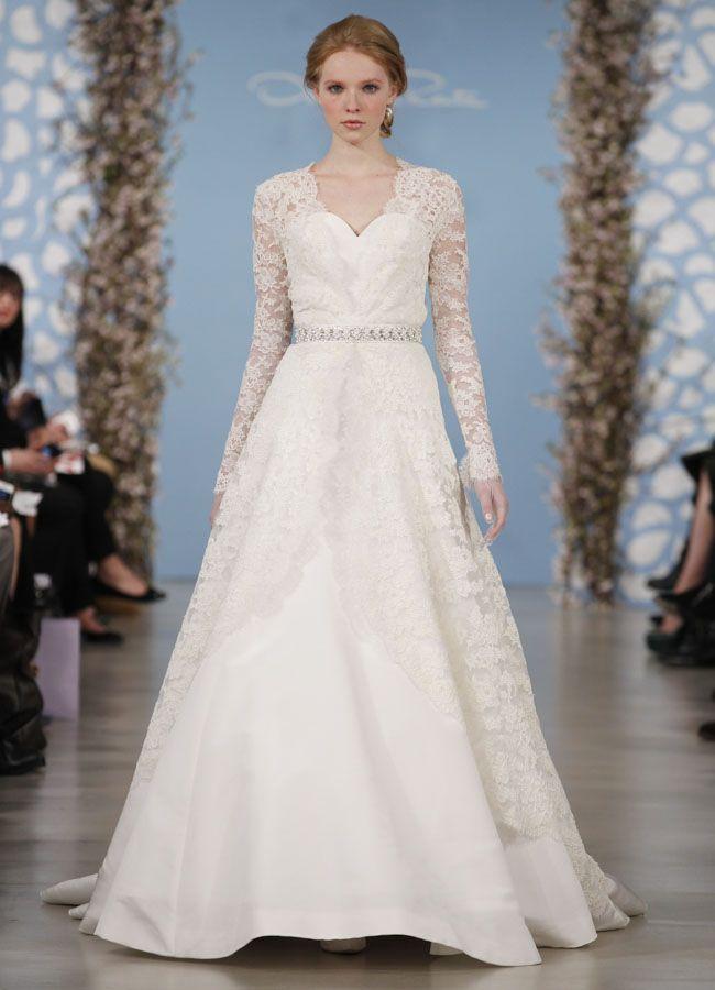 Collection robes de mariée Oscar De La Renta S/S 2014