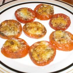 Italian Nutthouse Broiled Tomatoes Allrecipes.com