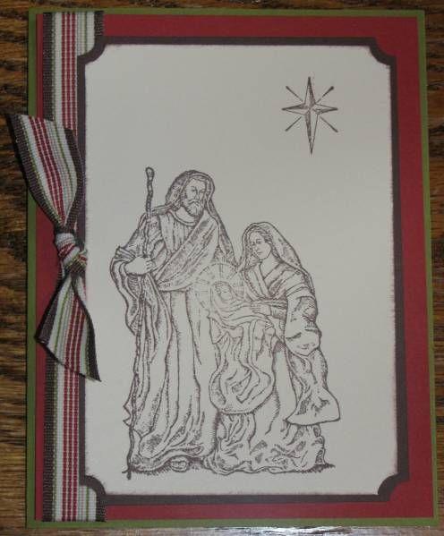 Holy Family Christmas Craft Card Ideas Pinterest