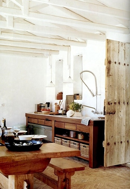 Beautiful Rustic Modern Kitchen Beautiful Kitchens Pinterest