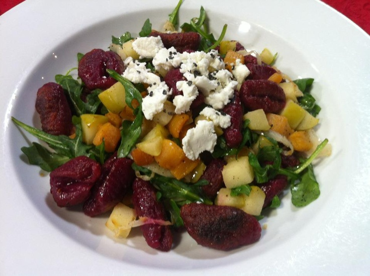 Beet Gnocchi | Food | Pinterest