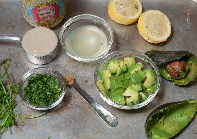 Black Bean, Feta & Avocado Quinoa Wrap with Avocado Tahini Sauce | Re ...