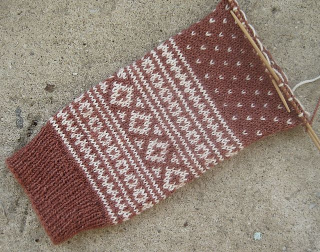 more stranded knitting Stricken Pinterest