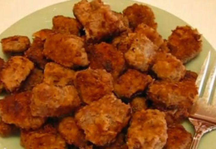 Pan fried round steak nuggets - I have so much round steak in my ...