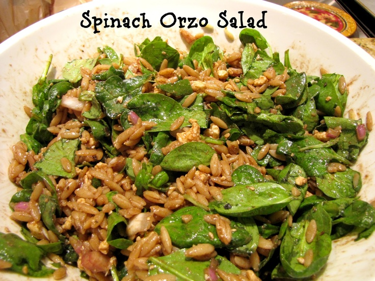 More like this: orzo , orzo salad and spinach .