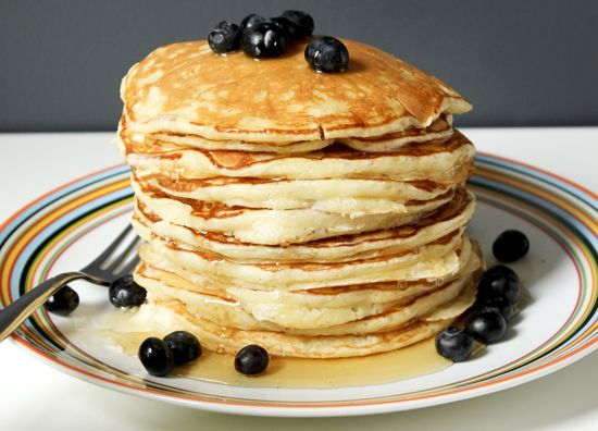 light and fluffy pancakes. | Food and Drink | Pinterest