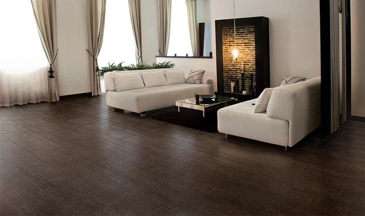 wood tile Living Room | Marazzi USA | Home Ideas | Pinterest