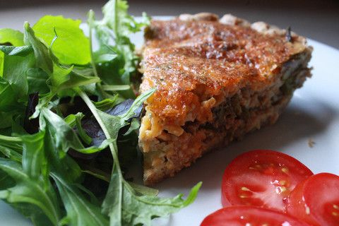 gluten free asparagus and spinach quiche perfect for mother s day ...