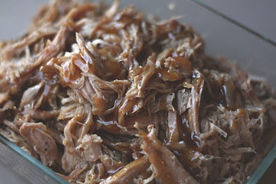 Slow Cooked Pork Roast with a Sweet Tangy Glaze