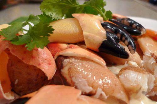 Stone Crab With Mustard Sauce Recipe — Dishmaps