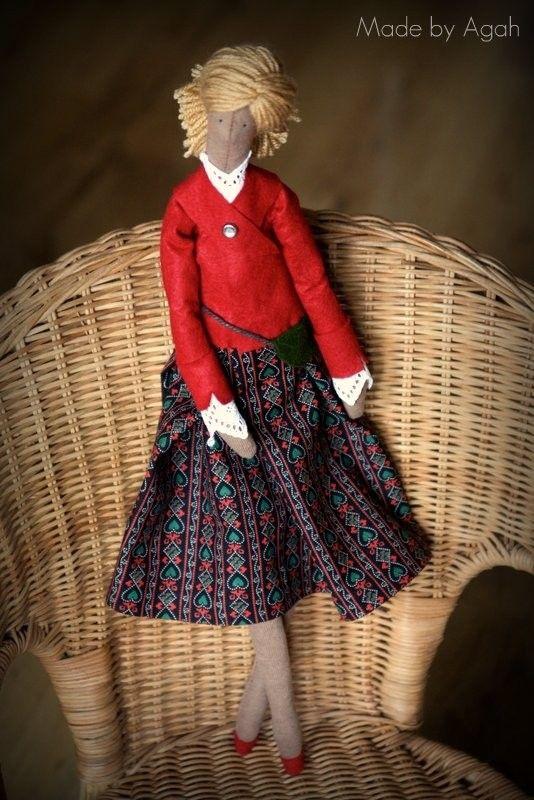 Пользовательские Ткань OOAK куклы, сделанные на заказ для невесты по madebyagah