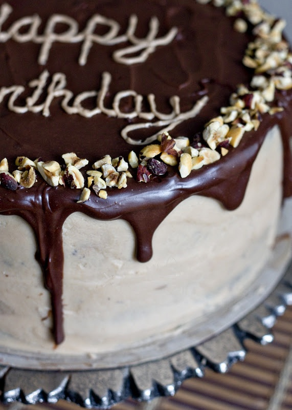 Chocolate Hazelnut Mousse Layer Cake | Cookies, Cakes, Brownies, Bars ...