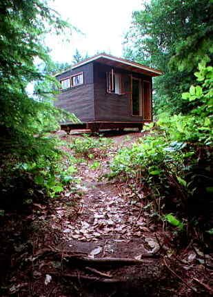 Building The Low Cost Getaway Cabin Camping Cabin Ideas Pinterest