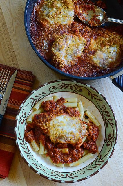 Skillet Chicken Parmesan and @Gastrolux Cookware Cookware #Giveaway ...