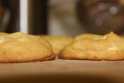 White Chocolate Orange Cookies | Food and Drink | Pinterest