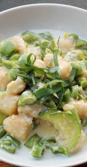 Summer Vegetable Gnocchi | Recipe