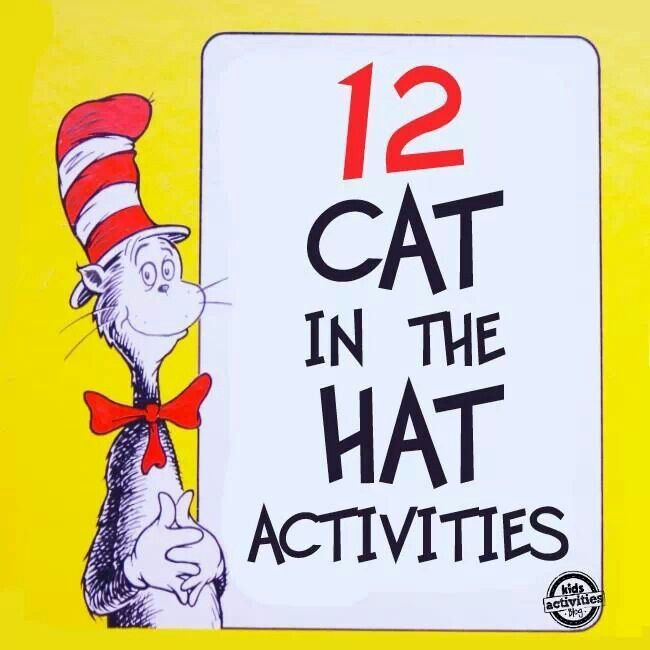 Cat in the hat activities | teaching ideas | Pinterest