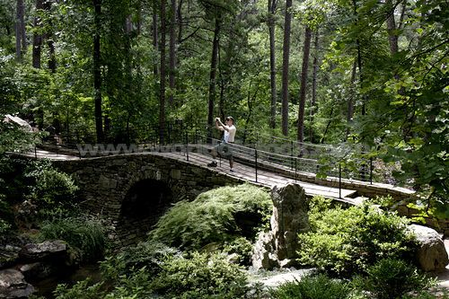 Arkansas Hot Springs Garvan Woodland Gardens