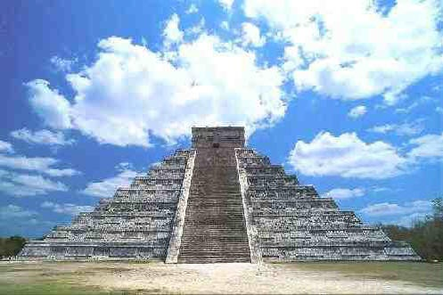 Most Mysterious Places On Earth | The northern and eastern faces of El Castillo. The Northern stairs ...