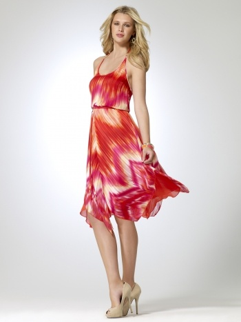 Tie Tye Halter Dress Gorgeous dress from @Cache Love it for a Girls Getaway Cruise!