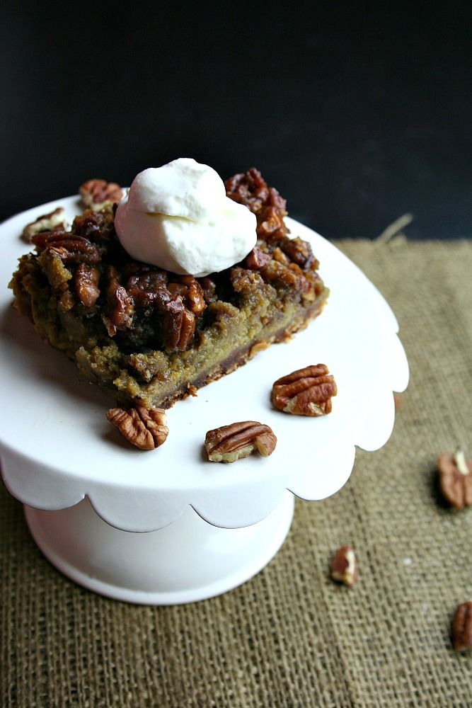 ... FoodFair: Pumpkin Pecan Pie Bars with Vanilla Bourbon Whipped Cream